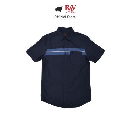 Rav Design 100% Cotton Woven Shirt Short Sleeve |RSS32413211