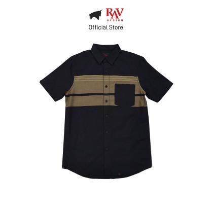 Rav Design 100% Cotton Woven Shirt Short Sleeve |RSS32423211