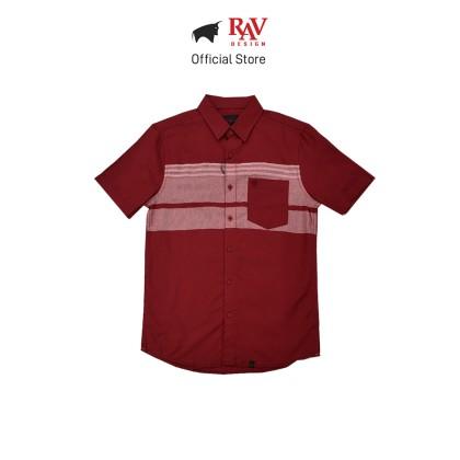 Rav Design 100% Cotton Woven Shirt Short Sleeve |RSS32423212