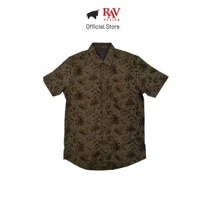 Rav Design 100% Cotton Woven Shirt Short Sleeve |RSS29613282