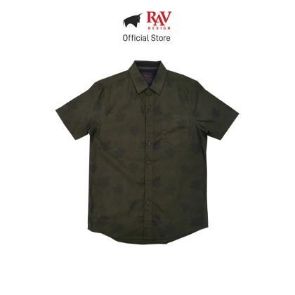 Rav Design 100% Cotton Woven Shirt Short Sleeve |RSS29623281