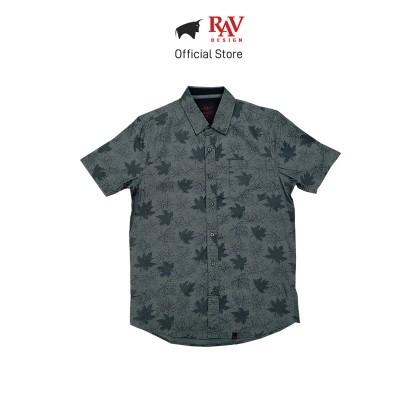 Rav Design 100% Cotton Woven Shirt Short Sleeve |RSS29623282