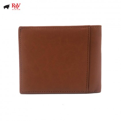 RAV DESIGN MEN LEATHER SHORT WALLET |RVW588G1(B)