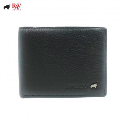 RAV DESIGN Leather Men Anti-RFID Short Wallet |RVW590G1
