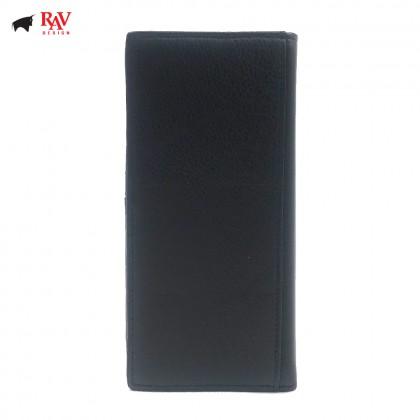 RAV DESIGN Leather Men Anti-RFID Long Wallet |RVW590G2