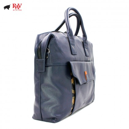 RAV DESIGN Leather Men Messenger Document Sling Bag  RVC439G4