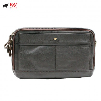 RAV DESIGN Leather Waist Bag Sling Bag |RVY452G2