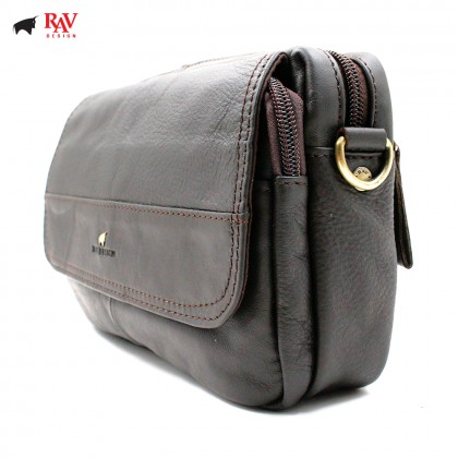 RAV DESIGN Leather Waist Bag Sling Bag |RVY452G1
