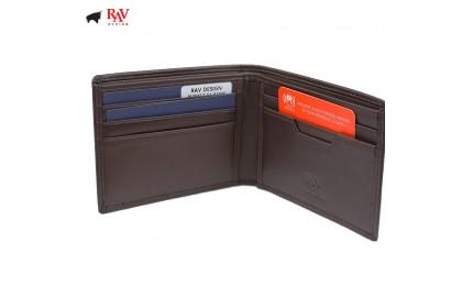 Rav Design Men Anti-RFID Leather Short Wallet Premium Edition  RVW612G1(A)