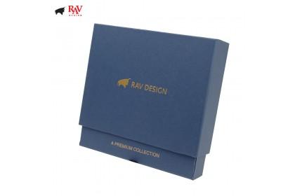 Rav Design Men Anti-RFID Leather Short Wallet Premium Edition |RVW610G1(A)