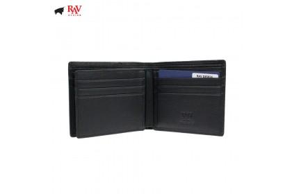 Rav Design Men Anti-RFID Leather Short Wallet Premium Edition |RVW607G1(A)