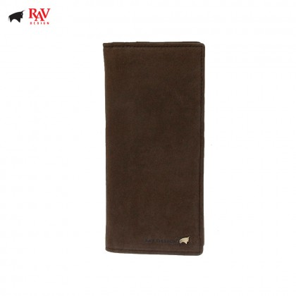 RAV DESIGN Men Genuine Leather Long Wallet |RVW602G2(C)