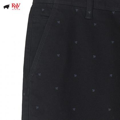Rav Design Men's Bermudas Short Pant Black |RSP3092B2091
