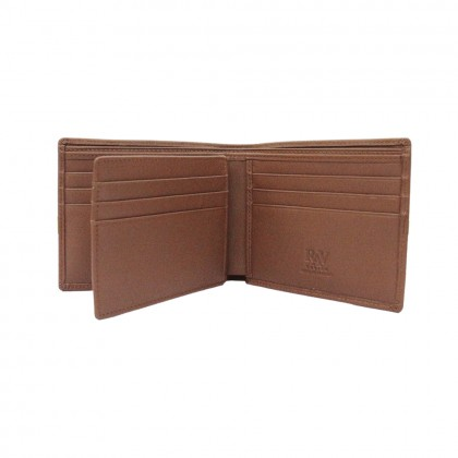 RAV DESIGN Men's Genuine Leather Anti-RFID Wallet |RVW667G1 (A)