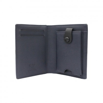 RAV DESIGN Men's Genuine Leather Anti-RFID Card Holder  RVW668G2 (C)