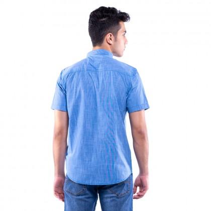 Rav Design 100% Cotton Woven Shirt Short Sleeve |RSS31403201