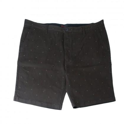 Rav Design Men's Bermudas Short Pant Dark Brown |RSP3092B2092