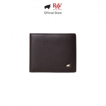 RAV DESIGN Men's Genuine Leather Anti-RFID 3 in 1 Combo Wallet with Cardholder and Keychain |RVW614L1