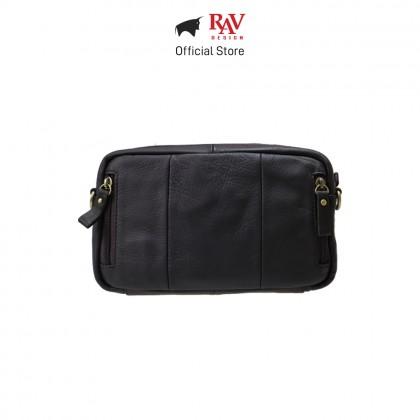 RAV DESIGN Men's Genuine Leather Sling bag |RVY476 Series