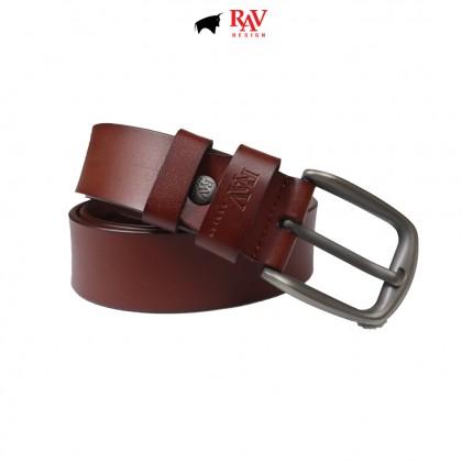 Rav Design 100% Leather Wallet & Belt Giftbox | RVG041G2(B)