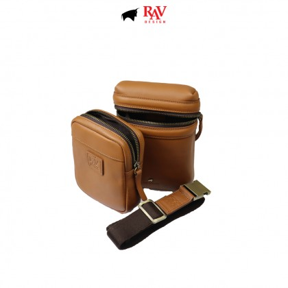 RAV DESIGN 100% Genuine Leather Pouch and Sling Bag Series |RVC485G1 series