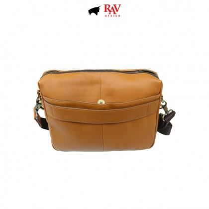 RAV DESIGN 100% Genuine Leather Messenger Document Sling Bag  RVC485G3 series