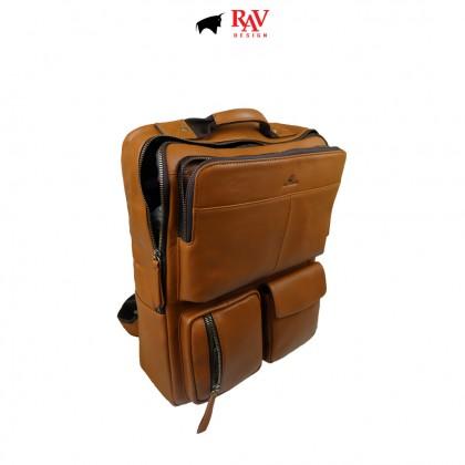 RAV DESIGN 100% Genuine Leather Backpack |RVC485G4series