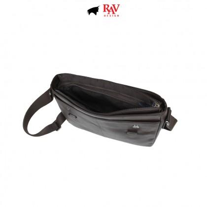 RAV DESIGN 100% Genuine Leather Document Sling Bag |RVC486G4 series
