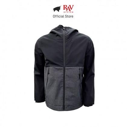 RAV DESIGN MEN'S JACKET BLACK |RLJ317425101