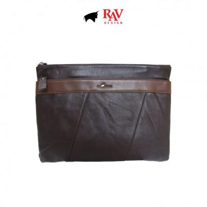 RAV DESIGN 100% Genuine Leather 2 Ways Clutch Bag |RVS474G2