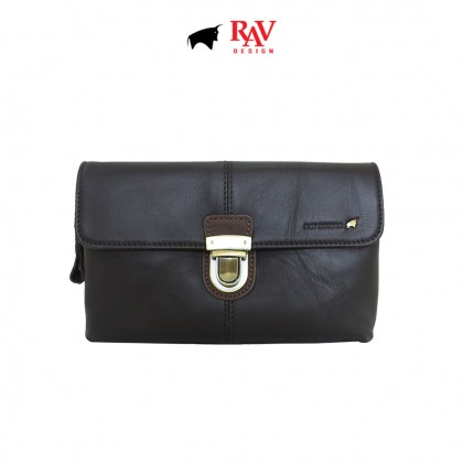 RAV DESIGN 100% Genuine Leather Clutch Bag With Key Holder |RVS475 Series