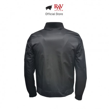RAV DESIGN MEN'S JACKET BLACK   RLJ2821-257-1