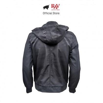 RAV DESIGN MEN'S JACKET BLACK  RLJ2896-258-1