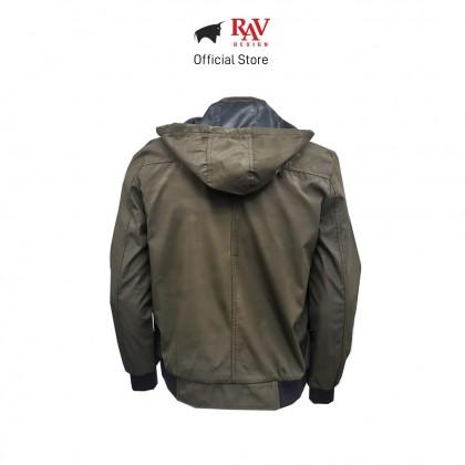RAV DESIGN MEN'S JACKET GREEN |RLJ2896-258-2