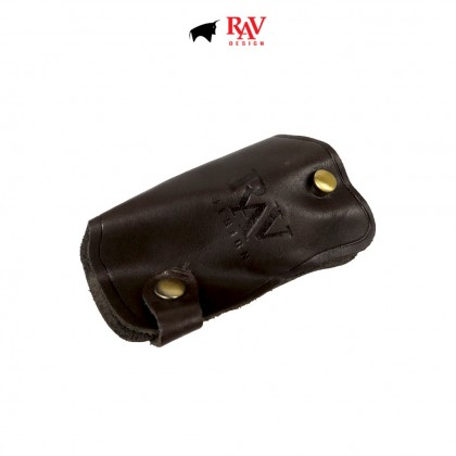 Men's Bundle 1: RAV Design Men's 100% Genuine Leather 40MM Pin Buckle Belt & Clutch Bag  RVB454G1 YRS051G2
