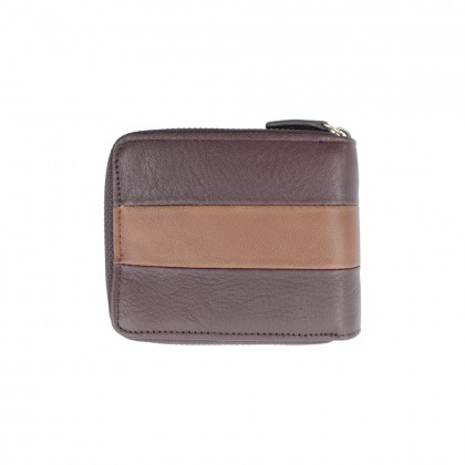 Men's Bundle 3: RAV Design Men's 100% Genuine Leather 40MM Pin Buckle Belt & Wallet  RVB577G1 RVW663G2(C)