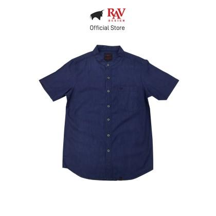 Rav Design 100% Cotton Woven Shirt Short Sleeve |RSS28603282