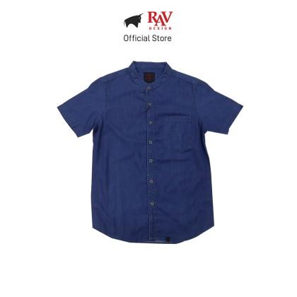 Rav Design 100% Cotton Woven Shirt Short Sleeve  RSS28603283